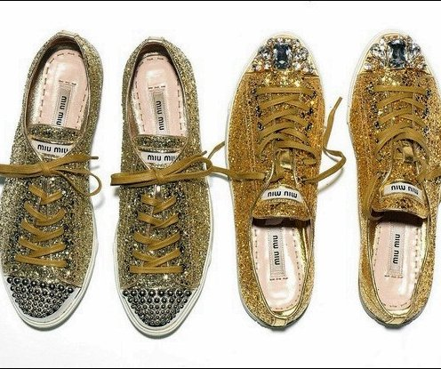 Designer sneakers have become