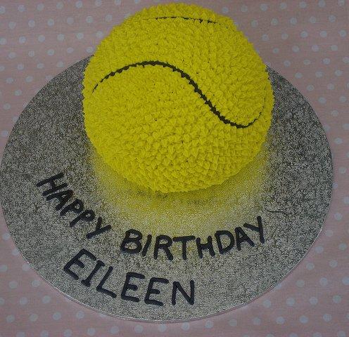3D Tennis Ball Cake | A