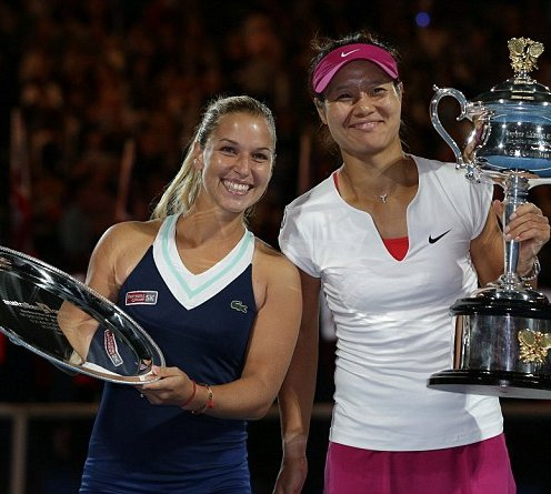 Champion: China s Li Na beat