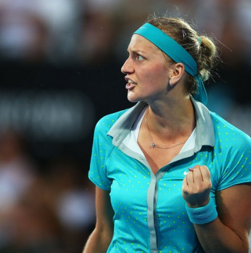 Petra Kvitova: Won the warm-up
