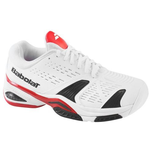 M Red/White Tennis Shoes