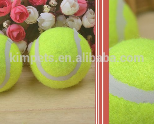 Cheap pet dog cat toy tennis