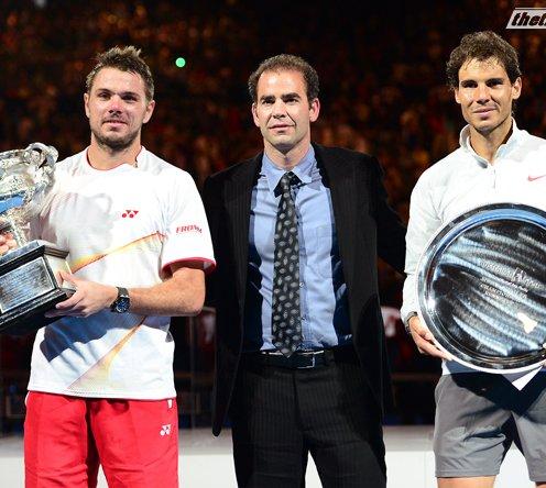 Video tennis, Rafael Nadal vs