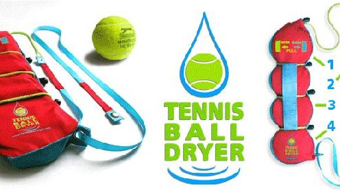 It dries your tennis balls in