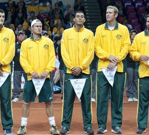 Australia s Davis Cup team of