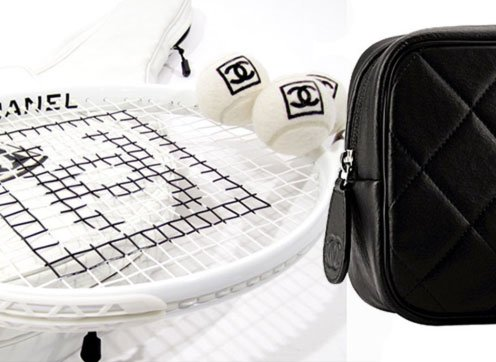 Chanel tennis ball white