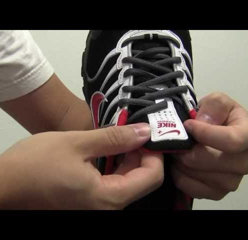 Keep a Shoe Tongue in Place by