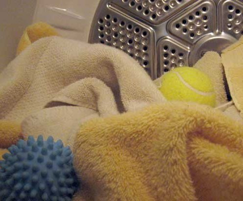 Look! Tennis Balls and Dryer