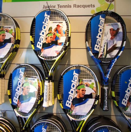 We have over 20 demo racquets