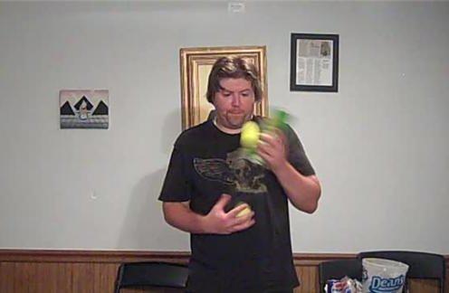 Most Tennis Ball Passes