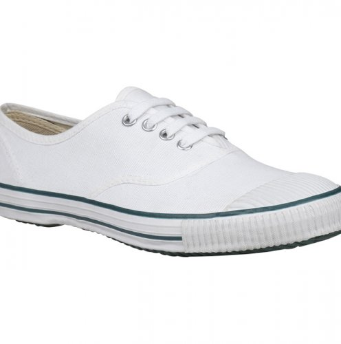 Bata White Boy School Shoes