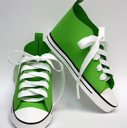 Baby Converse Paper Shoe
