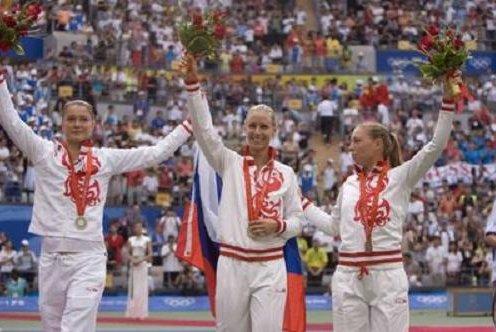 The Russian tennis girls swept