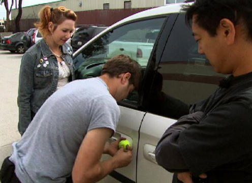 Tennis Ball Car Unlock
