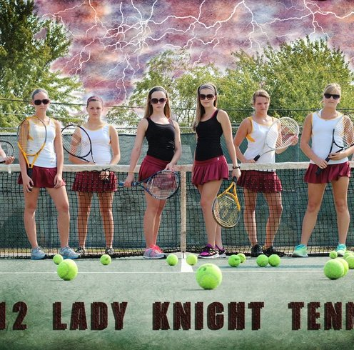 Tennis- Team Photo Ideas on
