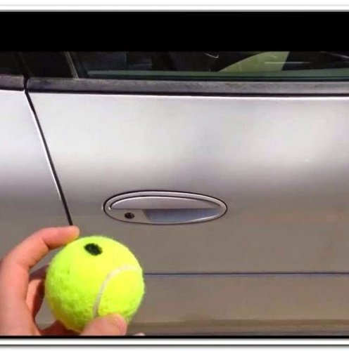 Is it true that a tennis ball