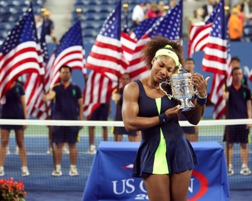 The US Open Tennis 2012