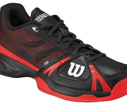 Wilson Rush CC Mens Black/Red