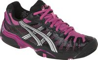 ASICS GEL Resolution 3 Black and Pink