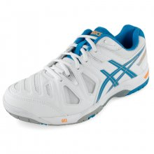 ASICS WOMENS GEL-GAME 5 TNS SHOES WH/SOFT BL