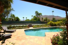 Gorgeous estate with tennis and amazing mountain views in Rancho Mirage, CA