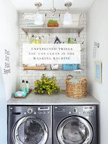 Here's a helpful tip: your washing machine can do far more than you may think. Forget clothing; washing machines can equally clean a whole bevy of household items--from stuffed animals to car mats. Cleaning your world just is about to get so much easier!
