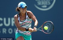 Lucky break: Heather Watson will play in the singles at the London Games