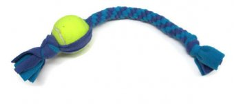 Dog toys tennis ball fleece