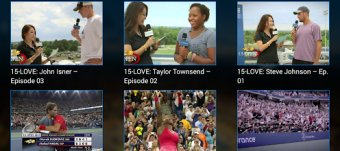 US Open 2012 Tennis Android app