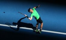 Murray will have to improve his serving if he is to go stand a chance of winning the tournament