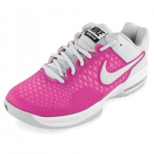 NIKE WOMENS AIR MAX CAGE SHOES RD VIOL/WH