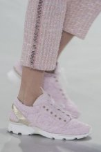 Pink Tennis Shoes by Chanel