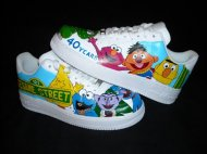 sesame street tennis shoes