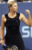 Sharapova - US Open 2006 dress