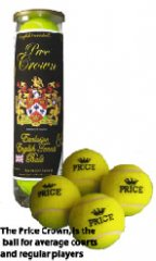 Tennis balls, MADE BY PRICE OF BATH