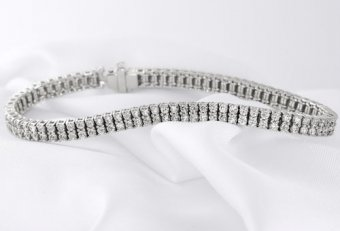 10 CTW Diamond Tennis Bracelet