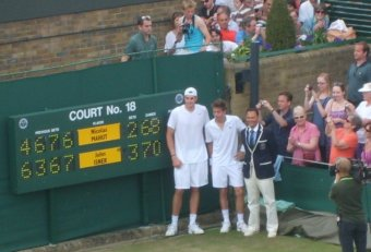 11 hours Tennis match Wimbledon