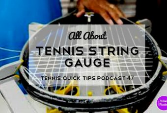 20 gauge Tennis string