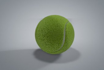 3D tennis ball Download