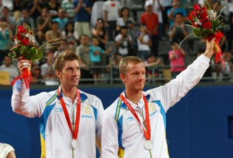 2008 Olympic Tennis silver