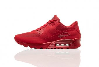 All Red tennis shoes