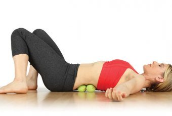 Arch massage tennis ball