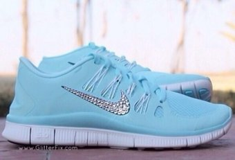 Baby Blue tennis shoes