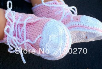 Baby tennis shoes Booties to Crochet