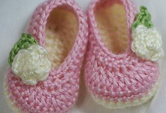 Baby tennis shoes pattern