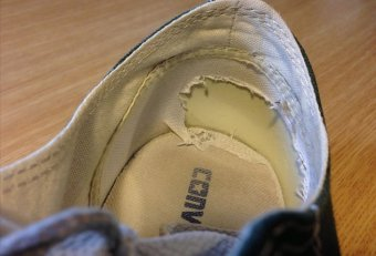 Can tennis shoes be repair?