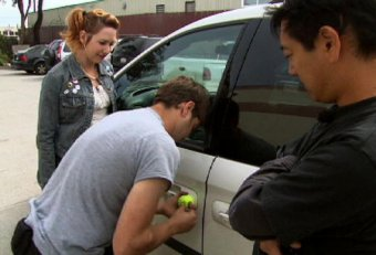 Does tennis ball really unlock car