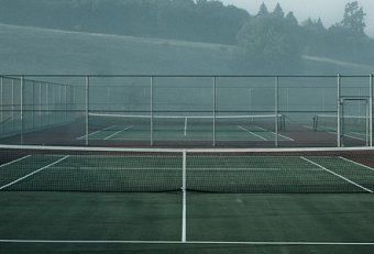 High School Tennis court dimensions