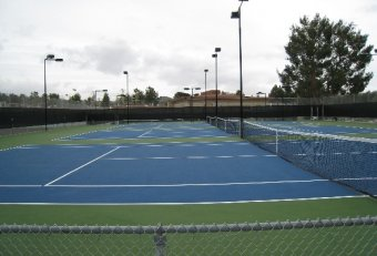 High School Tennis courts open public