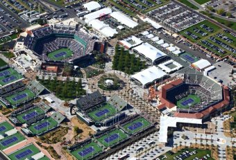 Indian Wells CA Tennis tournament